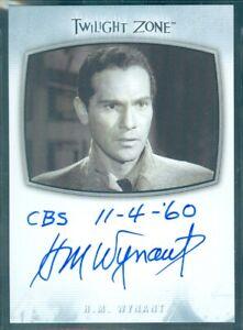 Twilight Zone 2020 (AI17) HM Wynant David Ellington Inscription Autograph Card b