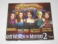 Amazing Match PC Games Women Of Mystery 4 Pack NEW