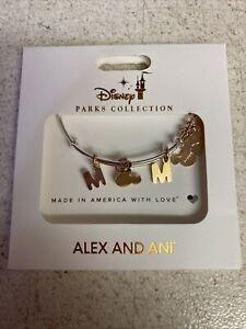 Disney Mickey MOM Rose Gold Alex and Ani Bracelet