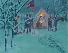 Mort Kunstler Strategy in the Snow Limited Edition Civil War Print S/N