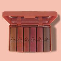 6 pièces/ensemble Nude MAT Rouge À Lèvres Étanche Long Lasting Velours nouv K9D1
