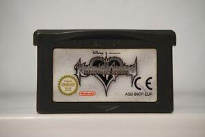 Kingdom Hearts Chain Memories nintendo gameboy advance GBA game boy PAL EUR 2004