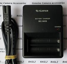 ORIGINALE Fujifilm bc-nhs NI-MH Caricabatteria per AA / LR6 BATTERIA RICARICABILE