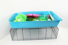 Savic 71-5074-001 Easy to Move 80x50cm Hamster Heaven Metro Cage w Large Base
