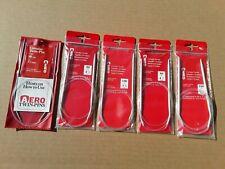 Aero Twin - Pin / Circular Knitting Needles. 5 Assorted Pcs. Arts And Crafts.