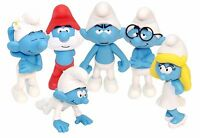 The Smurfs Large Figures 14cm/5.5' Choose your Smurf 6 Designs in Gift box New