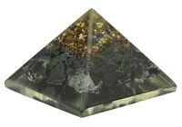 Black Tourmaline Stone Orgone Pyramid Reiki Gemstones Pyramide