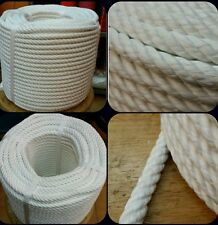 Corde cordage tressée nylon 8mm x 100 mètres fonds amarrage nautica