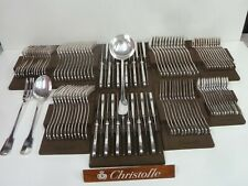 CHRISTOFLE CLUNY MENAGERE DE 111 pièces  - très bel état