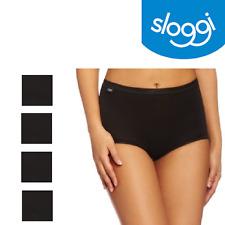 sloggi Womens Basic Maxi Brief Black 4 Pack 2950 20