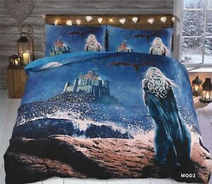 Game of Thrones Duvet Cover Set , Mother of Dragons2 Theme S D & K Special Range