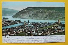 AK Bingen 1907 Bingerbrück Bahngelände Ortsansicht Häuser Gebäude Eisenbahn RP12