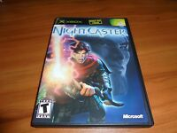 NightCaster Defeat the Darkness (Microsoft Xbox 2002) Complete Night Caster