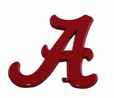Alabama Criimson Car Auto Emblem-Metal!