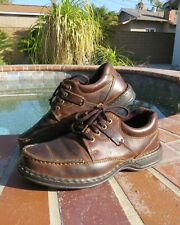 Hush puppies shoes men US size 7M Brown Leather