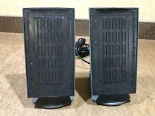Pair Vintage Monsoon MM-1000 Planar Flat Panel Speakers