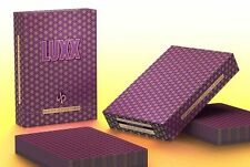Luxx Elliptica first Edition Purple playing cards Brand New Sealed