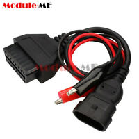 OBD2 3 Pin to 16 Pin Diagnostic OBD Connector Cable Adapter For Fiat Alfa Lancia