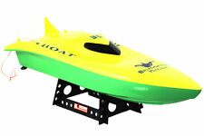 "Balaenoptera Musculus RC Remote Control Racing Speed Boat Yellow 23"" New"