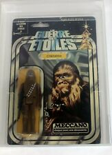 1978 Vintage Star Wars French Meccano 12 Back Chewbacca AFA80 NM #19155299