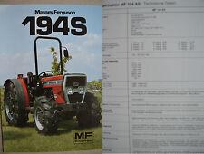 Massey Ferguson MF 194S Prospekt