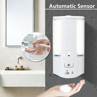 500ml Automatic Infrared Sensor Soap Dispenser Shower  Wall Mounted Home Kitchen