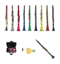 New Merano BB Student Clarinet in Black White Red Pink Blue Purple Green Yellow