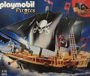Playmobil Piraten Kampfschiff Piratenkampfschiff 6678 Neu/Ovp