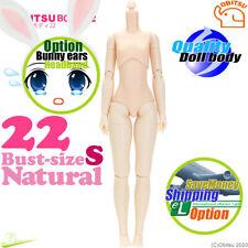 Cuerpo obitsu 22BD-F01N-S 22cm Chica Natural Tamaño S de Busto Pure Neemo flexión Muñeca