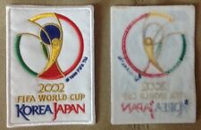 KOREA/JAPAN  SOCCER 2002 WORLD  CUP STRYKER STRIKER SEW-ON PATCH