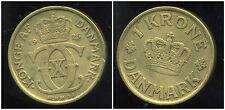 DANEMARK   1 krone  1925  ( bis )