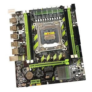 X79 Mainboard 8 USB LGA 2011 DDR3 M ATX Mainboard für E5 2660v2 SATA III
