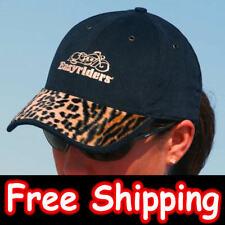 Ladies EasyRiders Animal Print Hat Baseball Cap Leopard