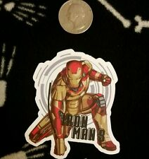 iron man sticker *** ground pounder sticker *** comic book sticker
