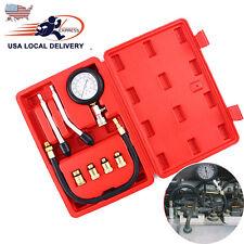 Auto Car Engine Cylinder Pressure Compression Tester Set Gauge Diagnostic Tool