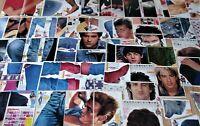 Grosse BRAVO Starschnitt Seiten Sammlung ! 70er 80er 90er Jahre Teile clippings