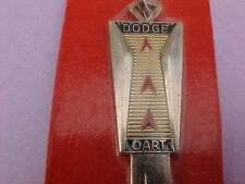 #2:  NICE  Vintage DODGE DART Gold Plated Key Blank (1966 ALL YEARS)