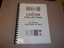 LUCAS CLASSIC MOTORCYCLE EQUIPMENT INSTRUCTION COMPILATION  OF 7 BOOKS LUC20