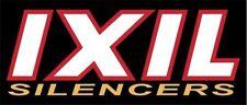 IXIL SILENCER BADGE STICKER HIGH TEMP RESISTANT RACING BIKE RACING AUFKLEBER