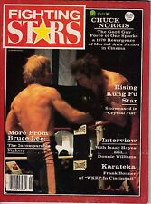 martial arts-fighting stars magazine-back issue-february 1980