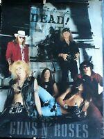 Guns n' Roses poster 1991 Use Your Illusion rock Slash
