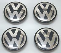 4Pcs Wheel Center Caps Hub Cover Logo Emblem Badge For Volkswagen VW 65mm Set VW