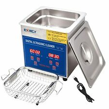 2l Commercial Ultrasonic Cleaner Industry Heated Withtimer Jewelry Ring Glasses