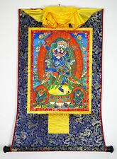 "48"" Tibet Buddhist Thangka Simhamukha Dakini Goddess Female Icons of Liberation"