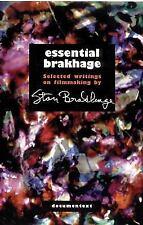 ESSENTIAL BRAKHAGE - BRUCE R. MCPHERSON STAN BRAKHAGE (PAPERBACK) NEW