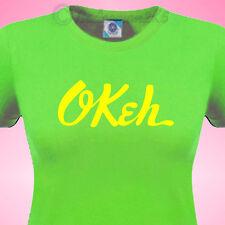 OKEH Rec  Ladies fit Apple Green T SHIRT Northern Soul aka TAMLA Motown or STAX