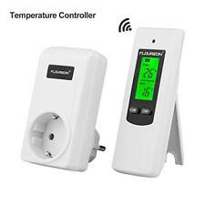 Floureon Thermostat RF sans fil Contrôleur de Température D'ambiance Plug I