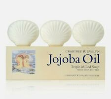 Crabtree & Evelyn Jojoba Oil Triple Milled Soap With Shea Butter 3 Bars x 3.5 oz