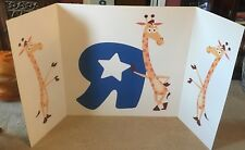 "Toys R Us / Geoffrey  Store Display Sign / Poster 68"" long X 36"" Wide"