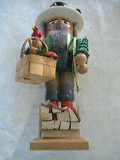 """Steinbach: Bavarian Forest Man Nutcracker 16"""" Tall-Authentic-pre-owned"""